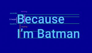 Kiến thức về font chữ