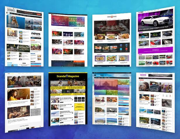 Kinh nghiệm chọn theme website tin tức