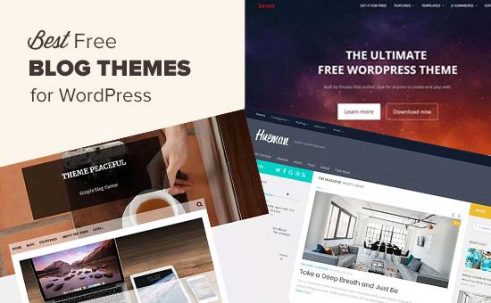 Những mẫu themes WordPress miễn phí bạn nên dùng