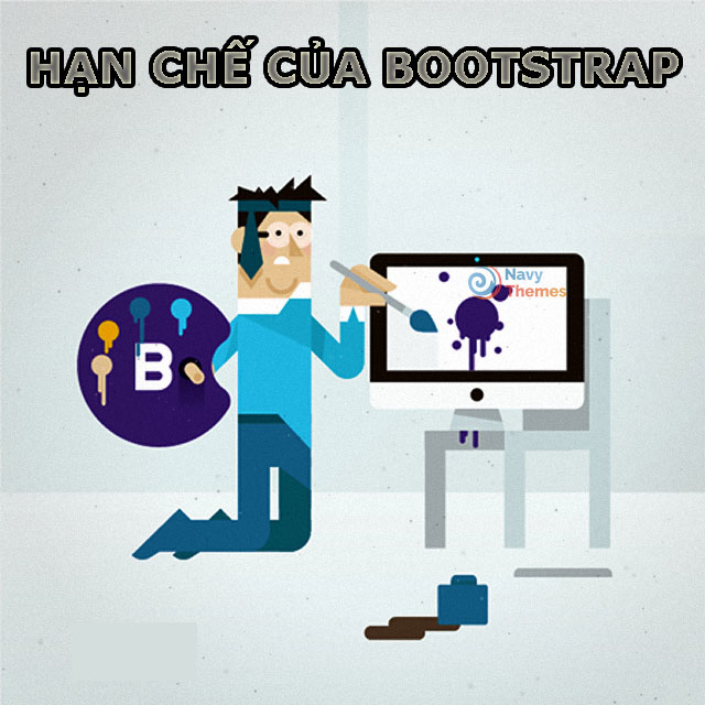 Hạn chế của Bootstrap.
