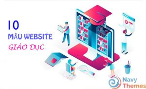 10 mẫu website giáo dục