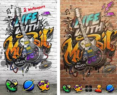 Music Life GO Launcher Theme