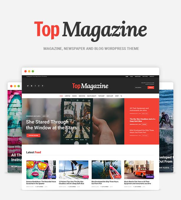 Planner Magazine Theme