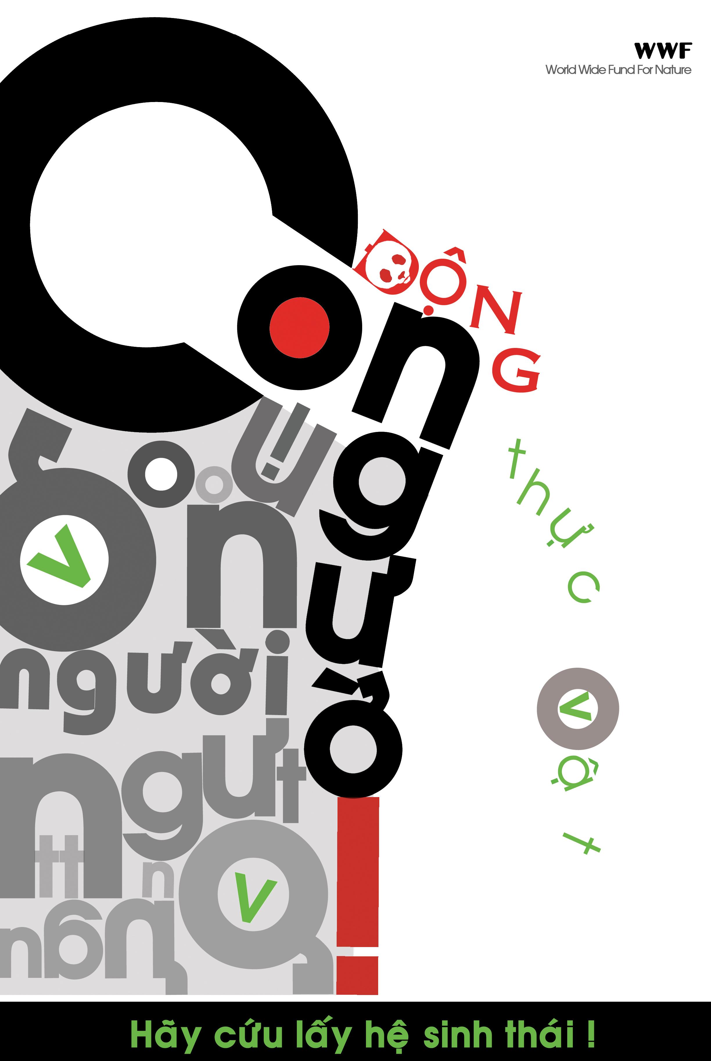 Sử dụng fonts chữ để nhấn mạnh.