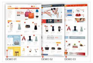 Themes bán hàng cho website WordPress.