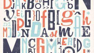 Thủ thuật sử dụng fonts chữ thiết kế poster.