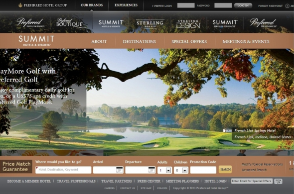 Mẫu website du lịch.