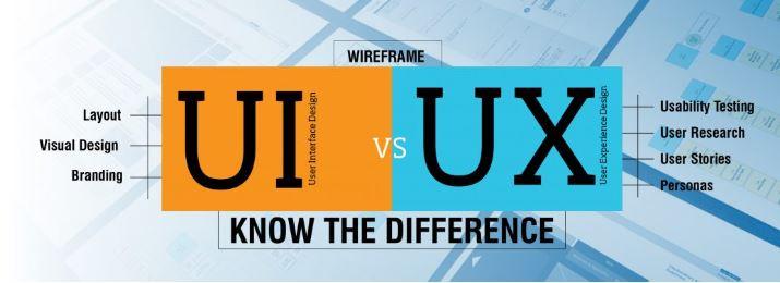 UI và UX là 2 khái niệm thiết kế khác nhau.