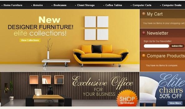 Tiêu chuẩn thiết kế website nội thất