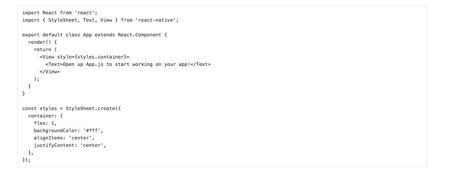 Lập trình React Native hoạt động như thế nào